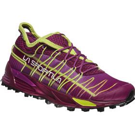 La Sportiva Mutant Chaussures de trail Femme, plum/apple green